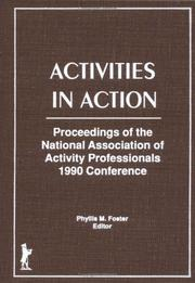 Cover of: Activities in Action