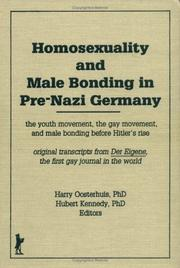 Homosexuality and male bonding in pre-Nazi Germany