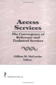 Cover of: Access Services