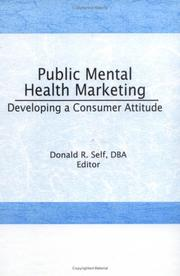Cover of: Public Mental Health Marketing