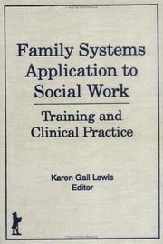 Cover of: Family Systems Application to Social Work
