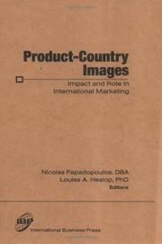 Cover of: Product-Country Images