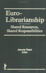 Cover of: Euro-Librarianship
