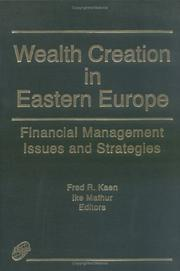 Cover of: Wealth creation in Eastern Europe
