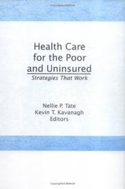 Cover of: Health Care for the Poor and Uninsured