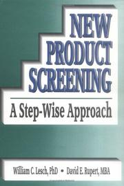 New product screening