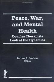 Cover of: Peace, war, and mental health |