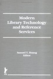 Cover of: Modern Library Technology and Reference Services (Reference Librarian) (Reference Librarian)