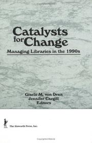 Cover of: Catalysts for Change