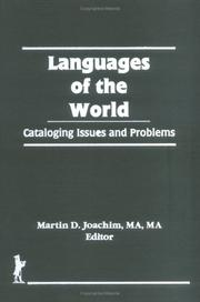 Cover of: Languages of the World