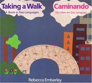 Cover of: Taking a Walk/Caminando: A Book in Two Languages/ Un Libro en Dos Lenguas