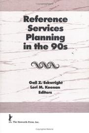 Cover of: Reference Services Planning in the 90s (The Reference Librarian) (The Reference Librarian)