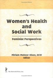Cover of: Women's Health and Social Work