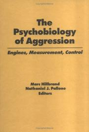 Cover of: The Psychobiology of Aggression |