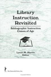 Cover of: Library Instruction Revisited