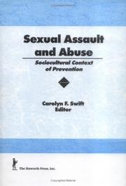 Cover of: Sexual Assault and Abuse