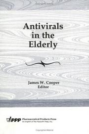 Cover of: Antivirals in the Elderly (Journal of Geriatric Drug Therapy) (Journal of Geriatric Drug Therapy)