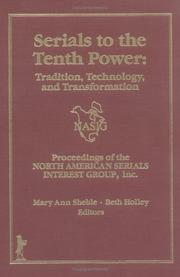 Cover of: Serials to the tenth power