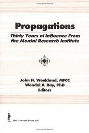 Cover of: Propagations