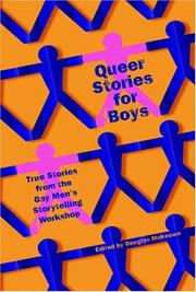 Cover of: Queer Stories for Boys