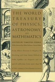Cover of: The World Treasury of Physics, Astronomy, and Mathematics