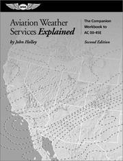 Cover of: Aviation Weather Services Explained
