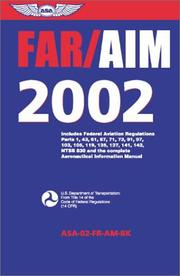 Cover of: Far/Aim 2002 | United States Federal Aviation Administration