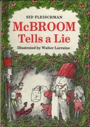 Cover of: McBroom tells a lie