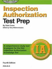 Inspection authorization test prep by Dale Crane