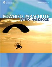 Cover of: Powered Parachute Flying Handbook | United States Federal Aviation Administration
