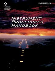 Cover of: Instrument Procedures Handbook | United States Federal Aviation Administration