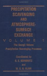 Cover of: Precipitation Scavenging And Atmosphere-Surface Exchange