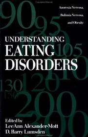 Cover of: Understanding Eating Disorders