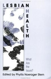 Cover of: Lesbian Health: What Are The Issues? (Applied Psychology: Social Issues & Questions)