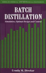 Cover of: Batch distillation
