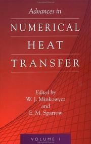 Cover of: Advances In Numerical Heat Transfer (Vol 1)