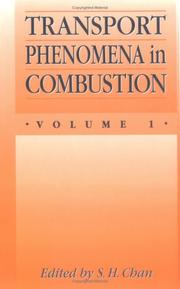 Cover of: Transport Phenomena In Combustion