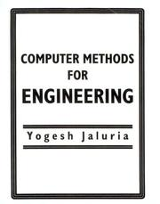 Cover of: Computer methods for engineering