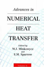 Cover of: Advances in Numerical Heat Transfer