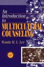 Cover of: An introduction to multicultural counseling
