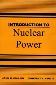 Cover of: Introduction to Nuclear Power | Collier&he