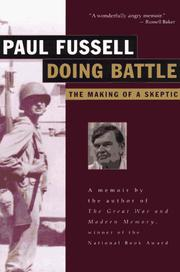 Cover of: Doing Battle
