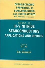 Cover of: III-V Nitride Semiconductors