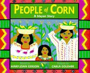 Cover of: People of corn | Mary-Joan Gerson