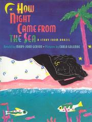 Cover of: How night came from the sea | Mary-Joan Gerson