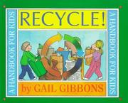 Cover of: Recycle!: A Handbook for Kids