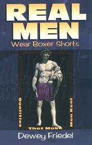 Cover of: Real Men Wear Boxer Shorts