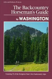 Cover of: The backcountry horseman's guide to Washington