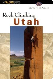 Cover of: Rock climbing Utah