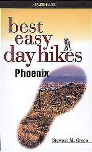 Cover of: Best easy day hikes, Phoenix